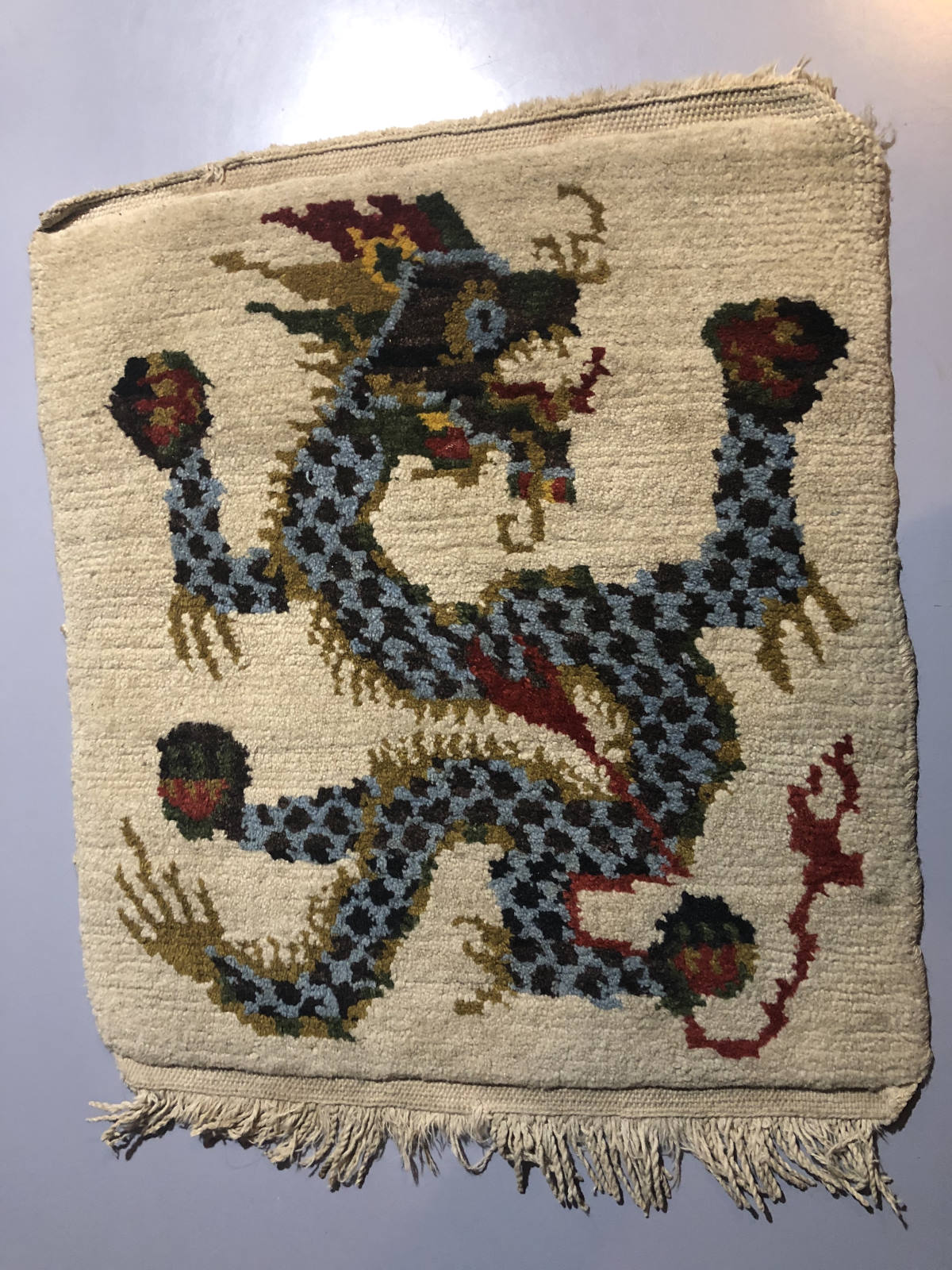 Mary Jane Overall tapestry