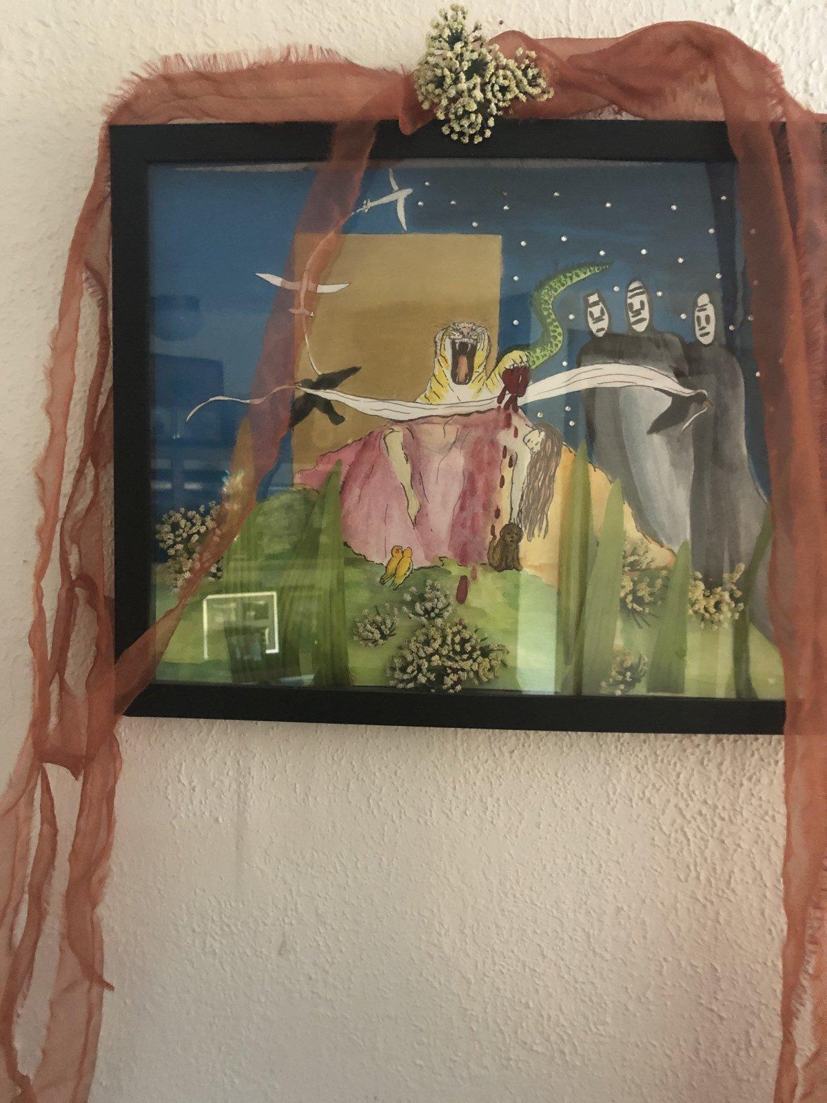 Mary Jane Overall artist 2